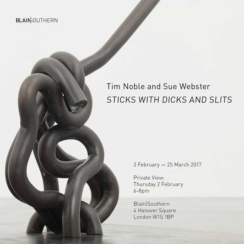 Tim Noble & Sue Webster – Exhibitions