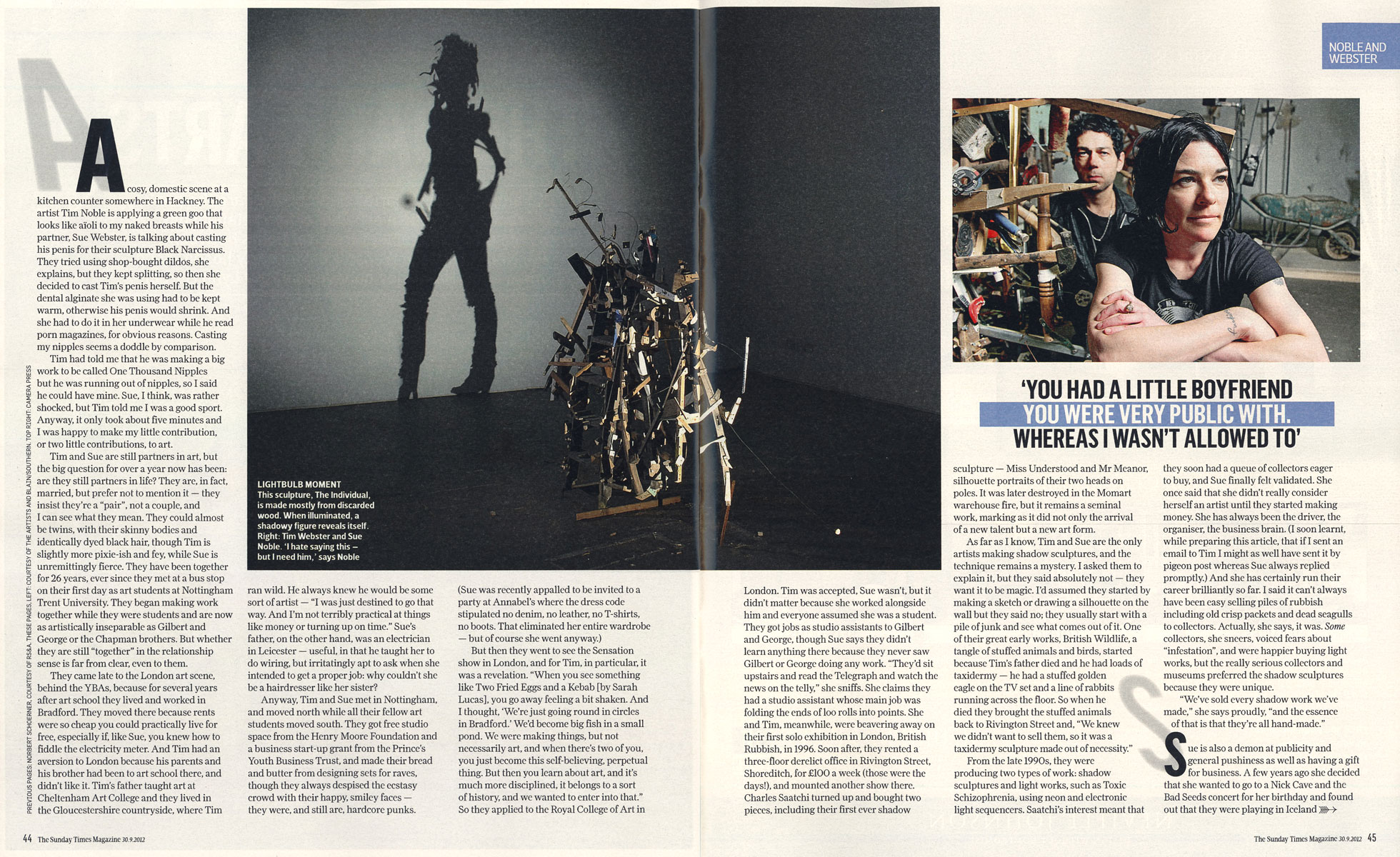 Sunday Times Magazine 2012 pgs44-45