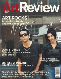 Art Review, 2002 magazine cover